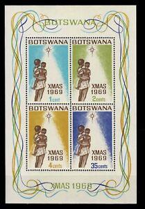 Botswana 01   1969 Christmas  MNH
