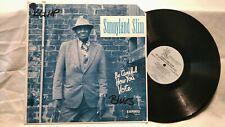 Sunnyland Slim - Be Careful How You Vote, 1989 blues vinyl Lp, Earwig, Lps-4915