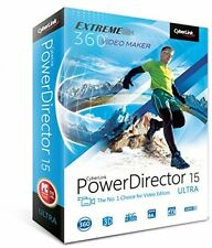 Cyberlink Powerdirector 15 Ultra Pdref00rpu000 Video Editor Audiodirector PC New