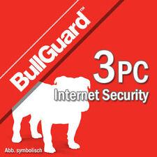 Bullguard Internet Security 2018 3 dispositivos 3 PC 1 año PC EU
