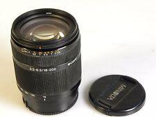 Sony Alpha sal18200 18-200 mm f/3.5-6.3 Obiettivo DT