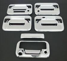 2004-2014 FORD F150 4DR CHROME DOOR HANDLE+TAILGATE COVER+KEYPAD+KH+CAM