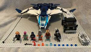 76032 LEGO Marvel Super Heroes Avengers Quinjet City Chase, Complete, Excellent!