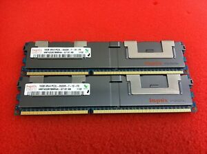 Hynix 32GB(2 x 16GB) HMT42GR7BMR4A-G7 PC3L-8500R DDR3 ECC Server RAM - R584
