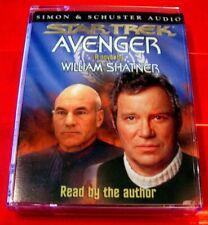 William Shatner Reads Star Trek Avenger 2-Tape Audio Book Sci Fi/TV Spin-Off