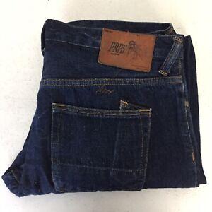 PRPS Goods & Co. Dark Blue Japanese Selvedge Denim Slim Fit Jeans 36 VGC JHD5PS5