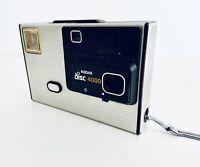 Vintage Eastman Kodak Disc 4000 Camera Made in USA 1981 w Metal Strap