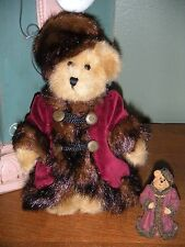 Boyds Bears Plush~Bailey In Russia With Ornament~Qvc Exclusive Style #99117V