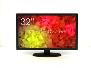 SWEDX SM-32K1-03-PP1 81 cm (32 Zoll) 4K Ultra HD LED-Monitor (HDMI 2.0, DP 1.2)