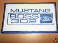 1969 1970 Mustang Boss 302 Embroidered Patch