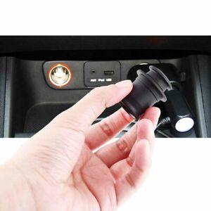 AP208 ABS Dustproof Plug Car Socket C*garette Lighter Dust Caps Cover Waterproof