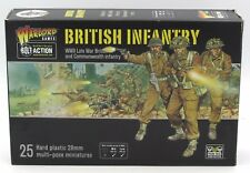 Bolt Action WGB-BI-01 WWII British Infantry Late War Commonwealth Troops Warlord