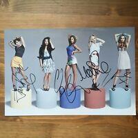 the Saturdays  x4 hand signed band autograph 8 x 12 photo  IP Una, Mollie +2