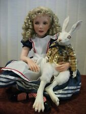 "New ListingAlice in Wonderland 24"" Resin Doll by Jane Bradbury"