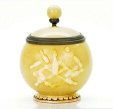 Schierholz & Sohn Antique Character German Porcelain Beer Stein - Bowling Bowl