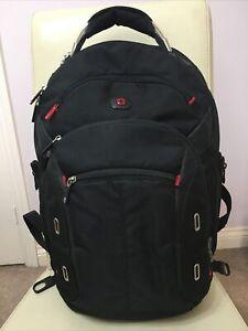 Wenger black backpack/ rucksack/ laptop bag VGC
