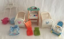 Fisher-Price Loving Family Dollhouse Nursery 9 Pieces