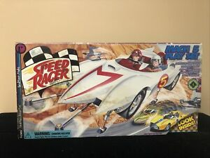 Speed Racer Mach 5 Play Set With Exclusive Spridle & Chim Chim Figures