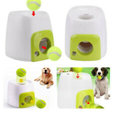 Automatic Pet Dog Launcher Tennis Ball Toy Fetch Hyper Training Game AU