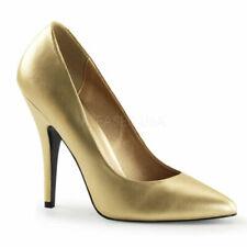 Scarpe da donna spillo Pleaser oro