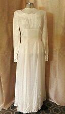 Vintage 1940's Original Wedding Dress Size 12