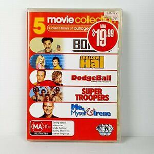 Borat • Shallow Hal • Dodgeball • Super Troopers • Me, Myself & Irene (DVD)