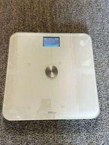 Withings smart body analyzer scale WS-50, White, USED