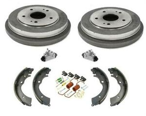 Fits 2003-2007 Honda Accord 2.4L With Brake Drums Shoes Springs Wheel Cylinders
