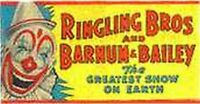 CIRCUS 577 WHISTLING BILLBOARD STICKER for American Flyer O Gauge Trains Parts