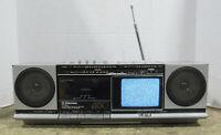 Emerson XLC450 TV Cassette FM/AM Stereo Multiplex Receiver For Parts Or Repair