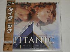 LD  Laserdisc :L547 Titanic 1997 :Leonardo Wilhelm DiCaprio