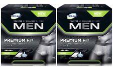 TENA Men Premium Fit Protective Underwear Level 4 Medium X20 (2 Packs of 10)