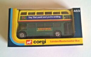 Corgi 469 - AEC ROUTEMASTER BUS Shillibeer / Leeds Route 22 Plus original box
