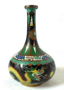 Vintage Chinese China Cloisonne Vase