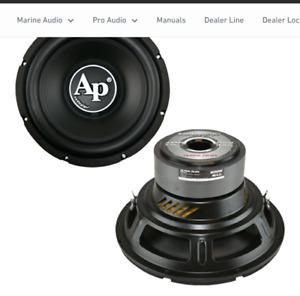 """Audiopipe TS-PP3-12-D4 12"""" DVC D4 Car Audio 12 inch Subwoofer"""