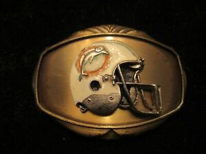 Miami Dolphins belt buckle 1978