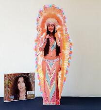 Cher Desktop Display Stand Standee Woman's World Believe Walking in Memphis Bang