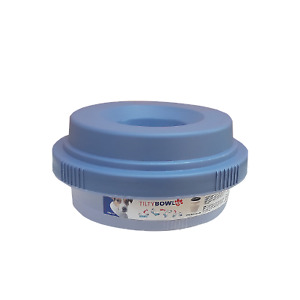 Tilty Bowl Größe XL blau Trinknapf für Hunde - Auslaufsicher
