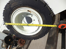 Speciality Tires Of America 23x10-12 Two Forklift Foam-Filled Tires w/wheels