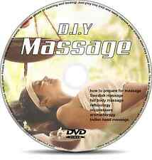 Learn Massage Techniques & Therapies Video Guide on DVD. Educational.