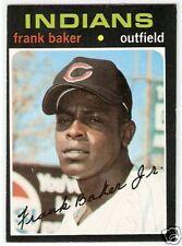 1971 Topps Hi Number #689 Frank Baker EXNM