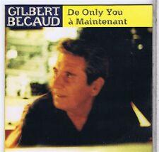 CD 2 TITRES NEUF GILBERT BECAUD DE ONLY YOU/ A MAINTENANT