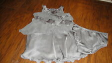 JUICY COUTURE 18-24 GORGEOUS GREY RUFFLED DRESS SET