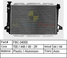 FORD F150 - F350 8/1987 TO 2/1993 BRAND NEW 2 ROW RADIATOR