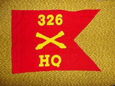 gdon6  WW 2 US Army Airborne  Guideon 326th Field Artillery Battalion HQ