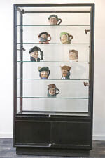 Glass Display Cabinets - Showcase with lockable doors and storage