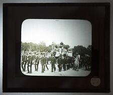PHOTO ANCIENNE OBSEQUES Pdt SADI CARNOT 1894 Plaque verre lanterne magique