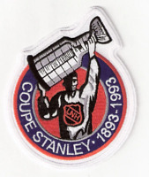 1993 NHL Stanley Cup Final 100th Anniversary French Version Jersey Patch
