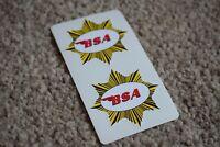 BSA Star Car Motorbike Motorcycle Racing Race Decal Sticker Emblem Logo 100mm