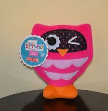 "LALALOOPSY OWL PLUSH PETS 6"" bea spells-a-lot's OWL SOFT DOLL TARGET"